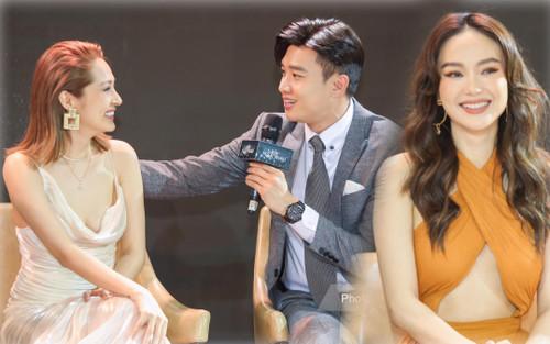 Họp báo 'Bẫy ngọt ngào': Chấn động với cảnh 18+ của Bảo Anh - Quốc Trường, Minh Hằng gợi cảm hút hồn fan!