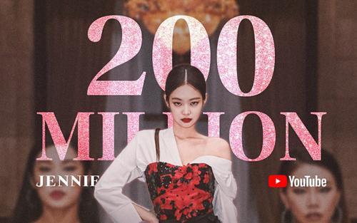 Video vũ đạo cán mốc 200 triệu view, 'SOLO' vẫn không ngừng gom kỉ lục đỉnh cho Jennie (BlackPink)