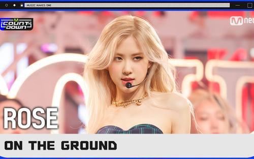 Knet nói gì về sân khấu của Rosé (BlackPink) sau 4 năm mới trở lại M!Countdown?