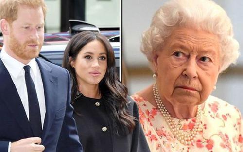 Sau scandal cháu dâu 'bóc mẽ' cả gia đình, Nữ hoàng nói câu này khiến Harry và Meghan phải xấu hổ