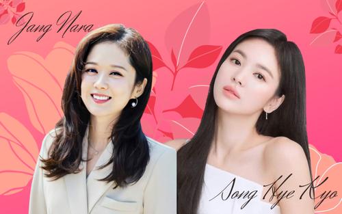 Jang Nara và Song Hye Kyo: phải chăng mỹ nhân tuổi Dậu đều sở hữu thần dược trẻ hóa?