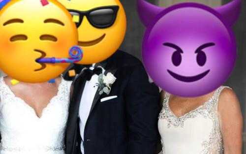 Mẹ chú rể gây tranh cãi vì mặc váy quyến rũ hơn cả cô dâu