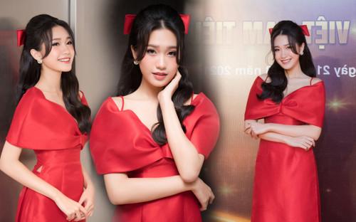 Top 10 Hoa hậu Việt Nam 2020 - Doãn Hải My diện áo dài đỏ chiếm spotlight, nhan sắc rạng rỡ