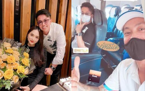 Bị đồn rạn nứt với Hương Giang, Matt Liu liên tục có hành động đáng chú ý với người yêu cũ của nữ ca sĩ