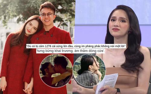 Hương Giang - Matt Liu yêu nhau 'tưng bừng khai trương, âm thầm đóng cửa' giống hệt clip nói triết lý?