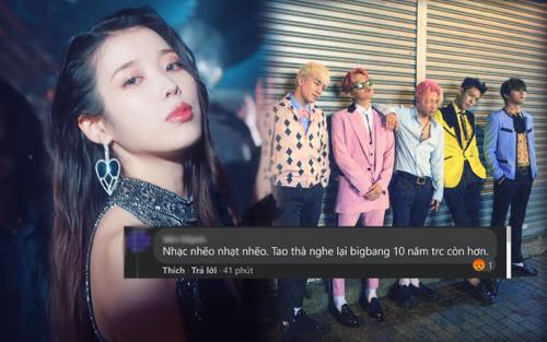 IU ngày trở lại: Bão nhạc số, dân mạng chê 'nghe BigBang 10 năm trước còn hơn'