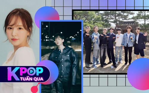 Kpop tuần qua: Baekhyun thông báo nhập ngũ, BTS double thành tích Youtube, Wendy ấn định ngày solo