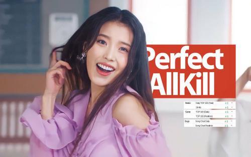 Không hổ danh 'quái vật nhạc số', 'LILAC' nâng tổng ca khúc đạt Perfect All-kill của IU lên con số 'khủng