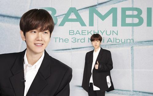 Họp báo BAEKHYUN comeback solo: 'Ngay từ lần đầu nghe Bambi, tôi biết ngay bài hát này là dành cho mình'