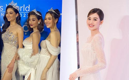 Á hậu Tường San diện váy bồng bềnh để lộ vòng 2 lùm xùm, fan chúc mừng 'chị đẹp' mang thai con đầu lòng?