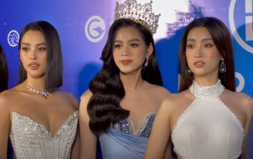 Đọ sắc với đàn chị Đỗ Mỹ Linh - Tiểu Vy, hoa hậu Đỗ Thị Hà bị fan soi 'lên bờ xuống ruộng'