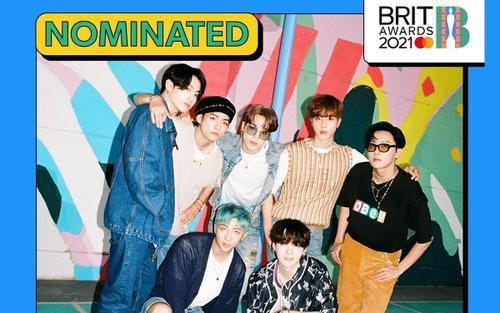Sau Grammy, BTS tiếp tục vinh dự trở thành nghệ sĩ Hàn Quốc đầu tiên được đề cử tại BRIT Awards