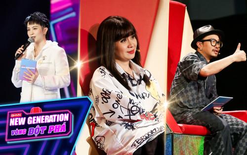 Gil Lê đảm nhận vai trò MC, Hà Lê cùng Lưu Thiên Hương loại thí sinh vòng Đột phá GHVN New Generation