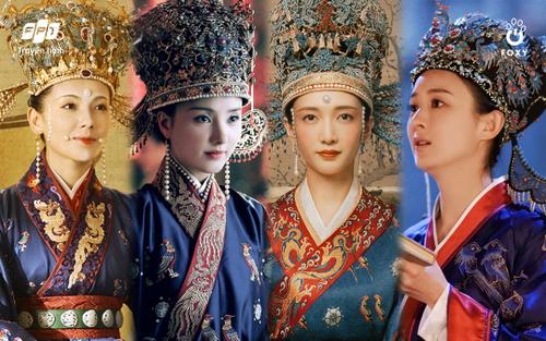 Dàn mỹ nhân Hoa ngữ diện lễ phục địch y thời Tống: Lưu Đào 'chặt đẹp' Triệu Lệ Dĩnh