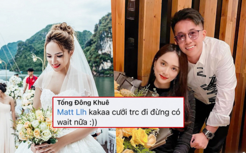 Giữa nghi vấn chia tay Hương Giang, Matt Liu bị bạn thân hối thúc đám cưới: Chưa tan vỡ, vẫn yêu âm thầm?