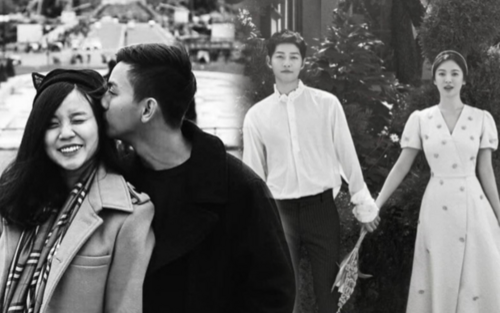 Vợ cũ Hoài Lâm chia sẻ ảnh Song Joong Ki - Song Hye Kyo kèm chú thích ẩn ý chuyện bị bội bạc