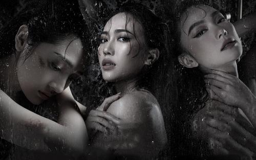 'Nóng bỏng mắt' với loạt ảnh táo bạo của Bảo Anh - Minh Hằng - Diệu Nhi trong 'Bẫy ngọt ngào'