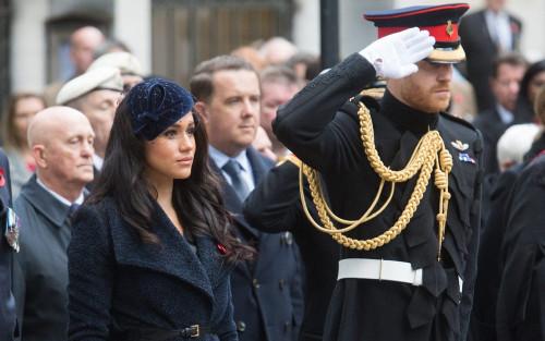 Meghan Markle sẽ không đi cùng Harry đến dự tang lễ của Hoàng thân Philip