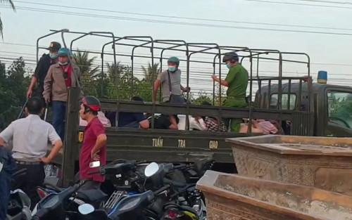Bắt gần 100 quái xế rủ nhau về Tiền Giang, đua xe trái phép trên QL1
