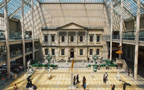 Khám phá viện bảo tàng mỹ thuật Metropolitan nổi tiếng thế giới qua trang chủ của Google