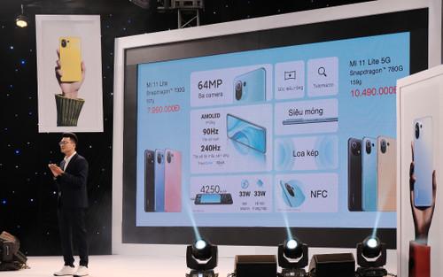 Bộ đôi lính mới phân khúc tầm trung Xiaomi Mi 11 Lite và Mi 11 Lite 5G 'chào sân' thị trường VN