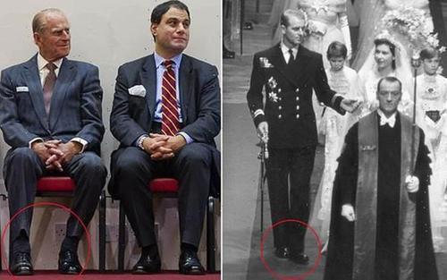 Hoàng thân Philip 'trung thành' với đôi giày cưới suốt 74 năm