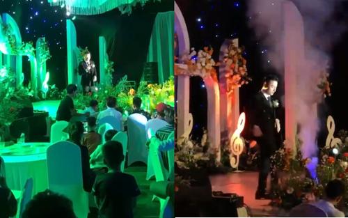 Góc không nhịn được cười: Phan Mạnh Quỳnh hát hit 'Vợ người ta' ngay trong lễ cưới của mình