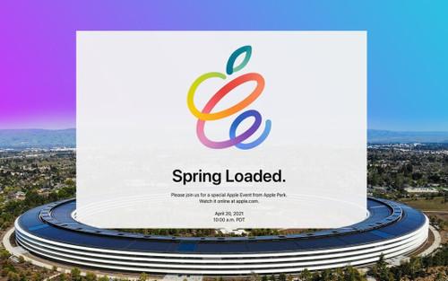 Xem trực tiếp sự kiện Spring Loaded diễn ra vào tối nay của Apple