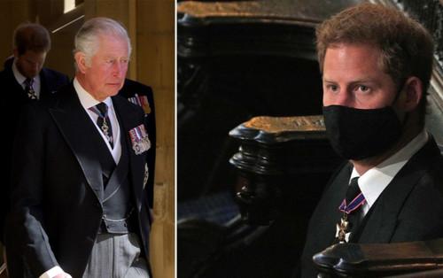 Harry gửi thư cho Thái tử Charles trước lễ tang Hoàng thân Philip