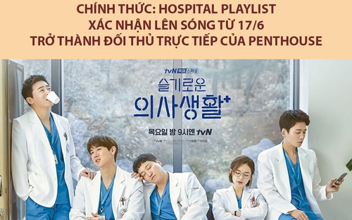 'Hospital Playlist': Nhóm f5 bác sĩ quay trở lại vào tháng 6, hứa hẹn khiến khán giả 'khóc ít, cười nhiều