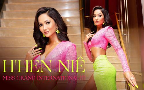 Khoe body xịn xò, Top 5 Miss Universe - H'Hen Niê được fan quốc tế đẩy thuyền: 'Tới ngay với Miss Grand'