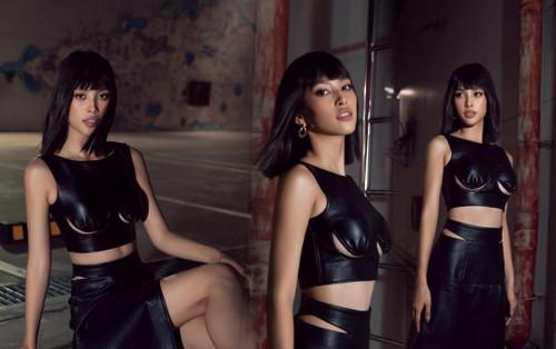 Hoa hậu Tiểu Vy khoe chân ngực siêu bạo, visual lạ lẫm khiến fan dụi mắt mới dám tin