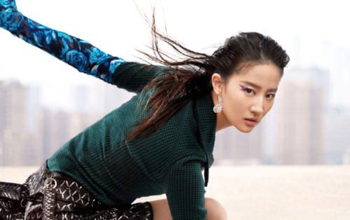 Không còn quê mùa, Lưu Diệc Phi mang đậm thần thái high fashion trên bìa tạp chí Vogue China