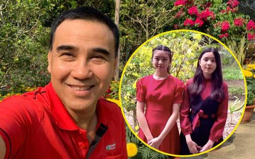 Hai 'nàng thơ' nhà MC Quyền Linh đăng ảnh ở Đà Lạt, dân mạng xuýt xoa: 'Hoa hậu tương lai chứ không vừa'