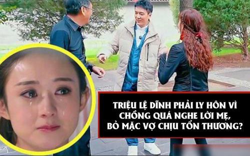 Đúng kiểu 'con trai cưng của mẹ', Phùng Thiệu Phong ly hôn Triệu Lệ Dĩnh vì xung đột mẹ chồng nàng dâu?
