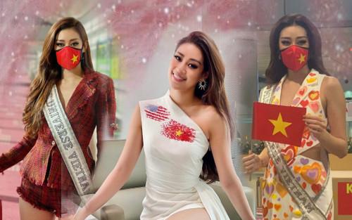 Chiến lược váy áo khai mạc Miss Universe của Khánh Vân cực khôn khéo, khiến fan muốn vỡ oà