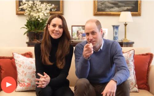 Vợ chồng Công nương Kate ra mắt kênh YouTube, Hoàng tử William nói câu dí dỏm trong clip hậu trường