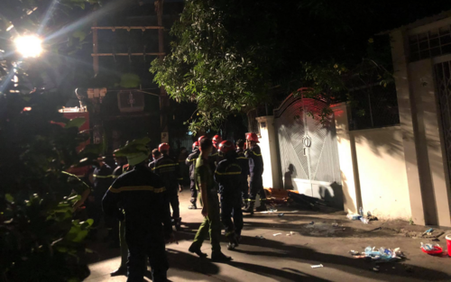 Hỏa hoạn làm 8 người tử vong: Nạn nhân đều là người trong cùng gia đình, căn nhà là nơi sản xuất hóa chất