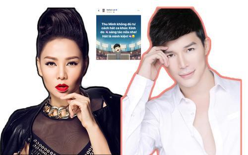 Nathan Lee tuyên chiến Thu Minh: Cấm hát 1 ca khúc do mình sáng tác, 'ngoan cố' sẽ kiện?
