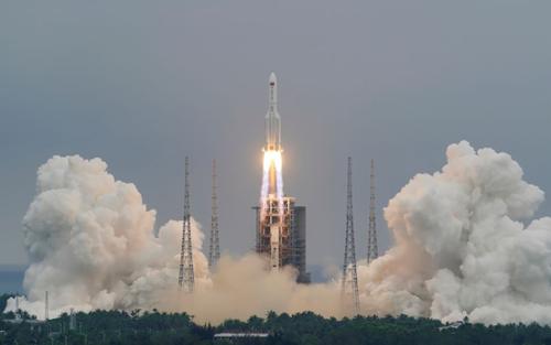 Xác định vị trí mảnh vỡ tên lửa Trung Quốc rơi xuống Trái đất trong hôm nay