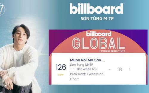 Sơn Tùng trở thành nghệ sĩ Đông Nam Á đầu tiên lọt BXH Billboard Global Excl Mỹ