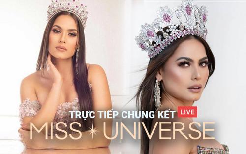 Chung kết Miss Universe: Người đẹp Mexico - Andrea Meza đăng quang Hoa hậu Hoàn Vũ 2020