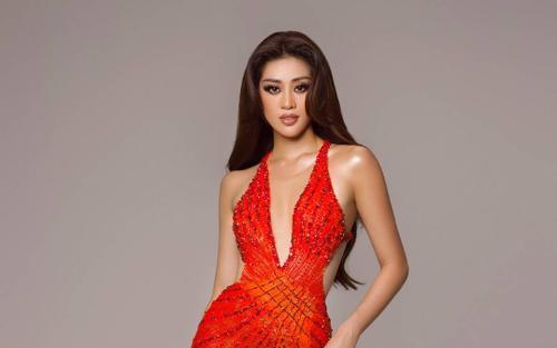 Váy dạ hội mang cảm hứng Tái Sinh của Khánh Vân tại chung kết Miss Universe 2020: Toả sáng rực rỡ