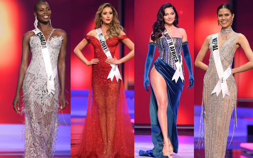 Đại diện Venezuela - Nam Phi và hàng loạt 'quái vật 5000 máu' out-top ngỡ ngàng tại Miss Universe 2020
