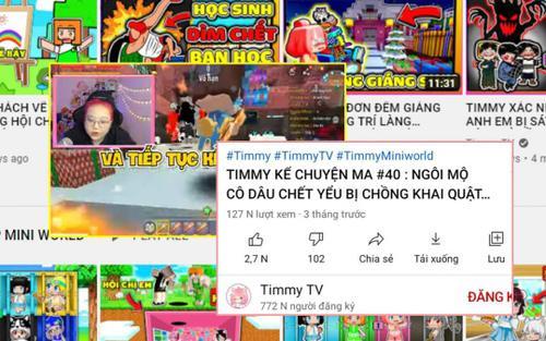 Cục trẻ em đề nghị 'xóa sổ' TIMMY TV - kênh YouTube có nội dung độc hại, ảnh hưởng tới trẻ em