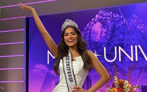 Mới đăng quang, Hoa hậu Hoàn vũ 2020 Andrea Meza đã bị soi vòng eo bánh mì, ngấn mỡ