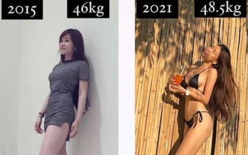 Nhìn lại bức ảnh 6 năm trước, netizen bất ngờ vì ngoại hình hiện tại 'nóng bỏng' của bạn gái Lâm Tây