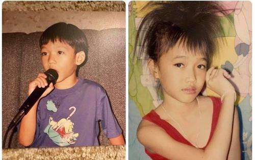 Sao Việt mừng ngày 1/6: Hồ Ngọc Hà khoe ảnh 'nude' thuở bé, Quang Trung trổ tài hát karaoke lúc 4 tuổi