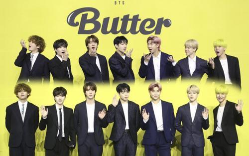 Ngắm nhìn loạt khoảnh khắc BTS 'thật là vàng tươi' trong họp báo comeback Butter