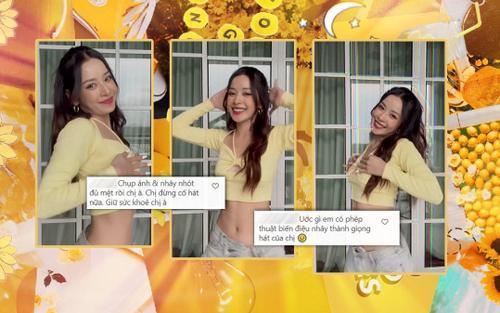 Chi Pu thả dáng xuất sắc trong hit của Doja Cat nhưng netizen vẫn không quên 'cà khịa' chuyện hát hò